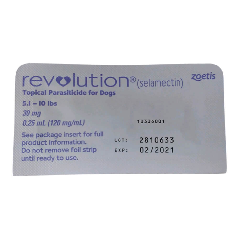 Rx Revolution, Purple Single Tab Dog 5-10lbs