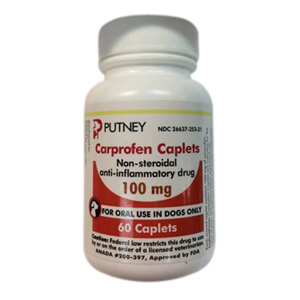 Carprofen Rx, Caplet, 100 mg x 60 ct