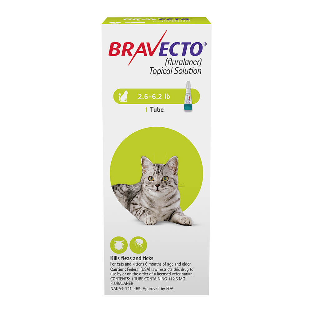 Rx Bravecto Topical Solution For Cats