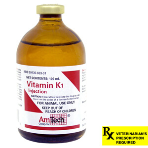 Vitamin K1 Rx, Injectable 100 mL