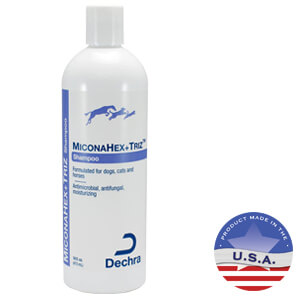 MiconaHex+ Triz Shampoo for Dogs, Cats and Horses, 16 fl oz