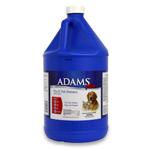 Adams Plus Flea and Tick Shampoo with Precor, 1 gallon