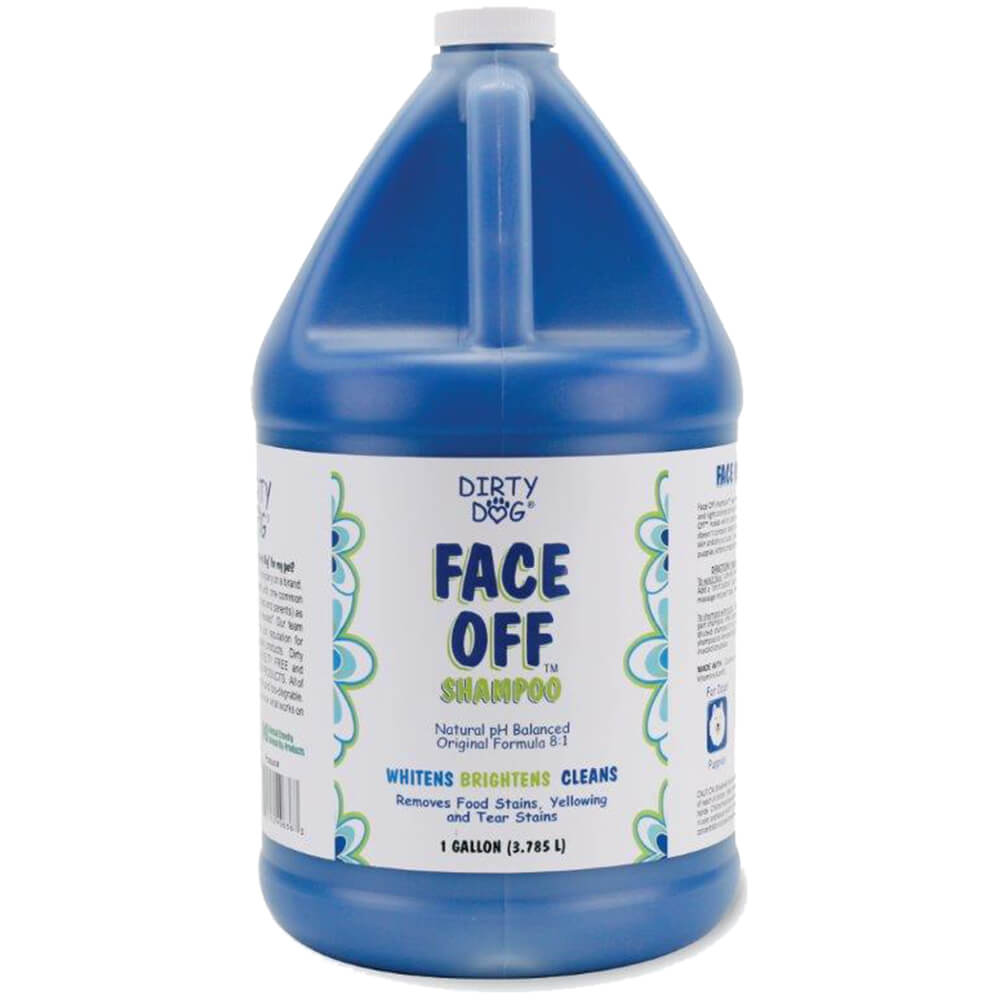 Dirty Dog Face Off Shampoo, 8:1 Concentrate, Gallon