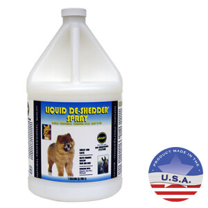 Laube Liquid De-Shedder Spray, Gallon