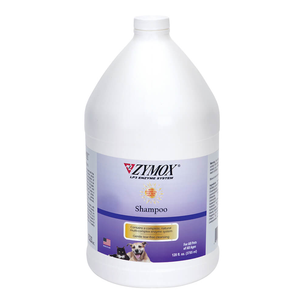 Zymox Enzymatic Shampoo With Vitamin D3 1 Gallon