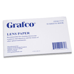 Microscope Lens Cleaner Paper (50 sheets)