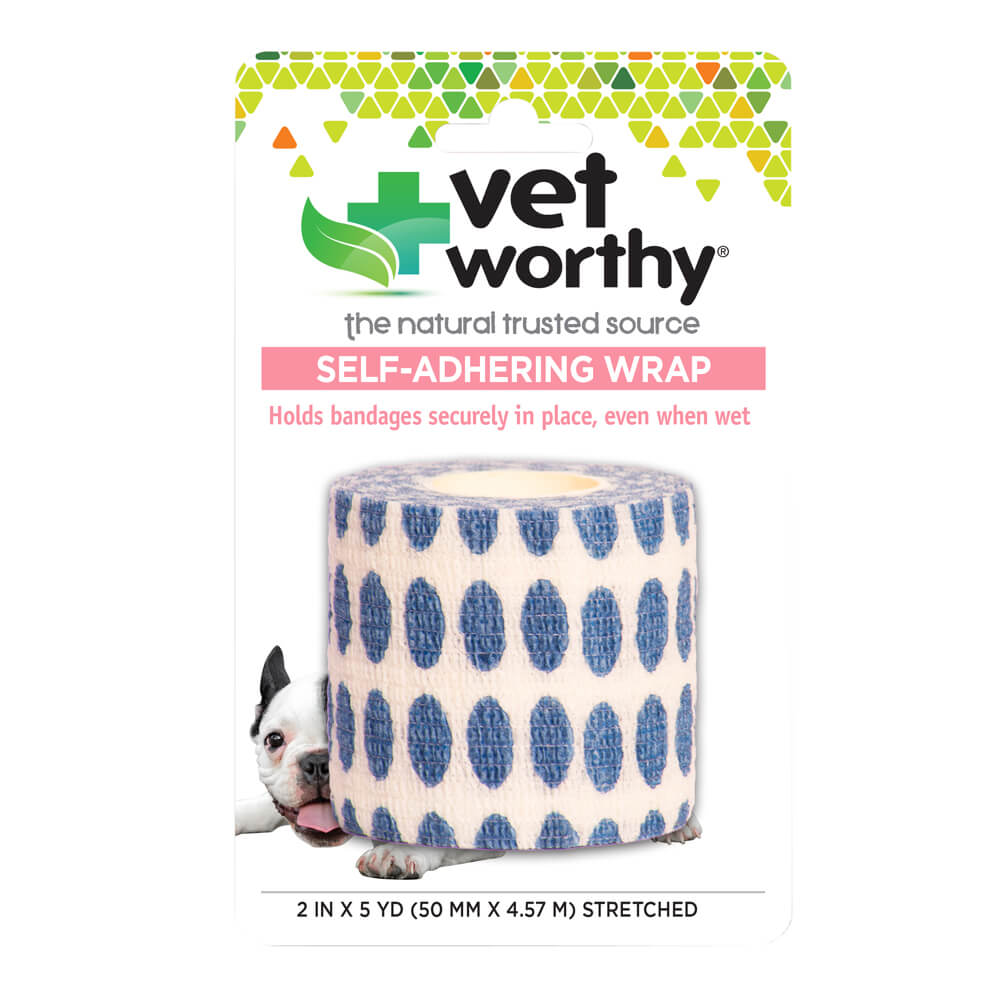 Vet Worthy, Self-Adhering Wrap, Polka Dots