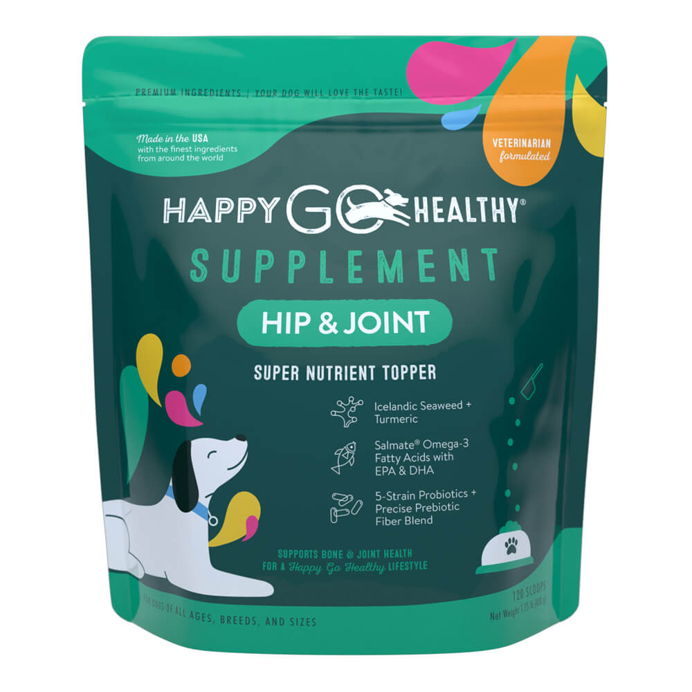 Happy Go Healthy, Hip and Joint, Large, 120 scoops
