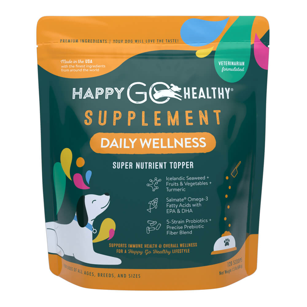 Happy Go Healthy, Daily Wellness, Large, 120 scoops