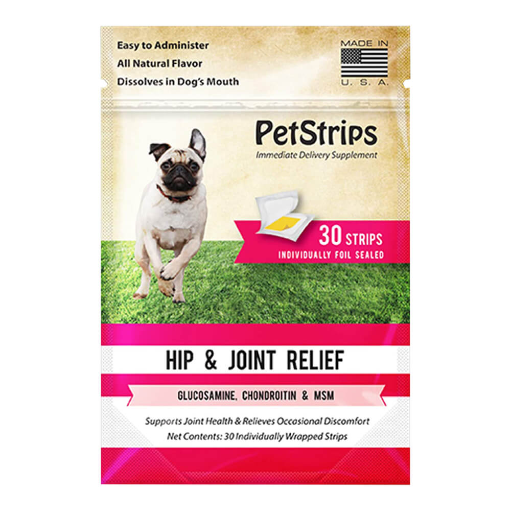PetStrips Hip & Joint Relief for Dogs 30 Strips