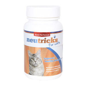 Neutricks Fish Flavored Sprinkles for Cats, 60 Scoops