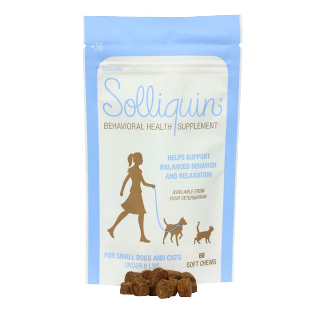 Solliquin Soft Chews 60ct for Small Dogs and Cats