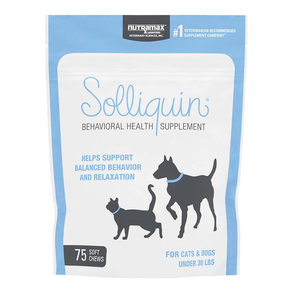 Solliquin Soft Chews 75 ct for SM to Med Dogs/Large Cats