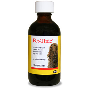 Pet-Tinic Liquid Vitamin-Mineral Supplement for Dogs and Cats