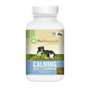Pet Naturals Calming for Dogs & Cats, 160 Chews
