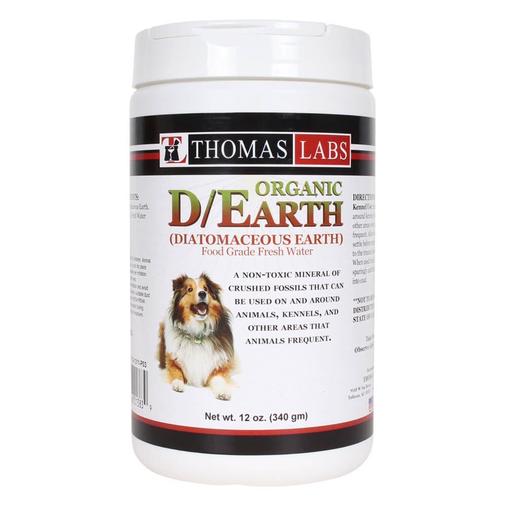 Organic D/Earth (Diatomaceous), 12 oz