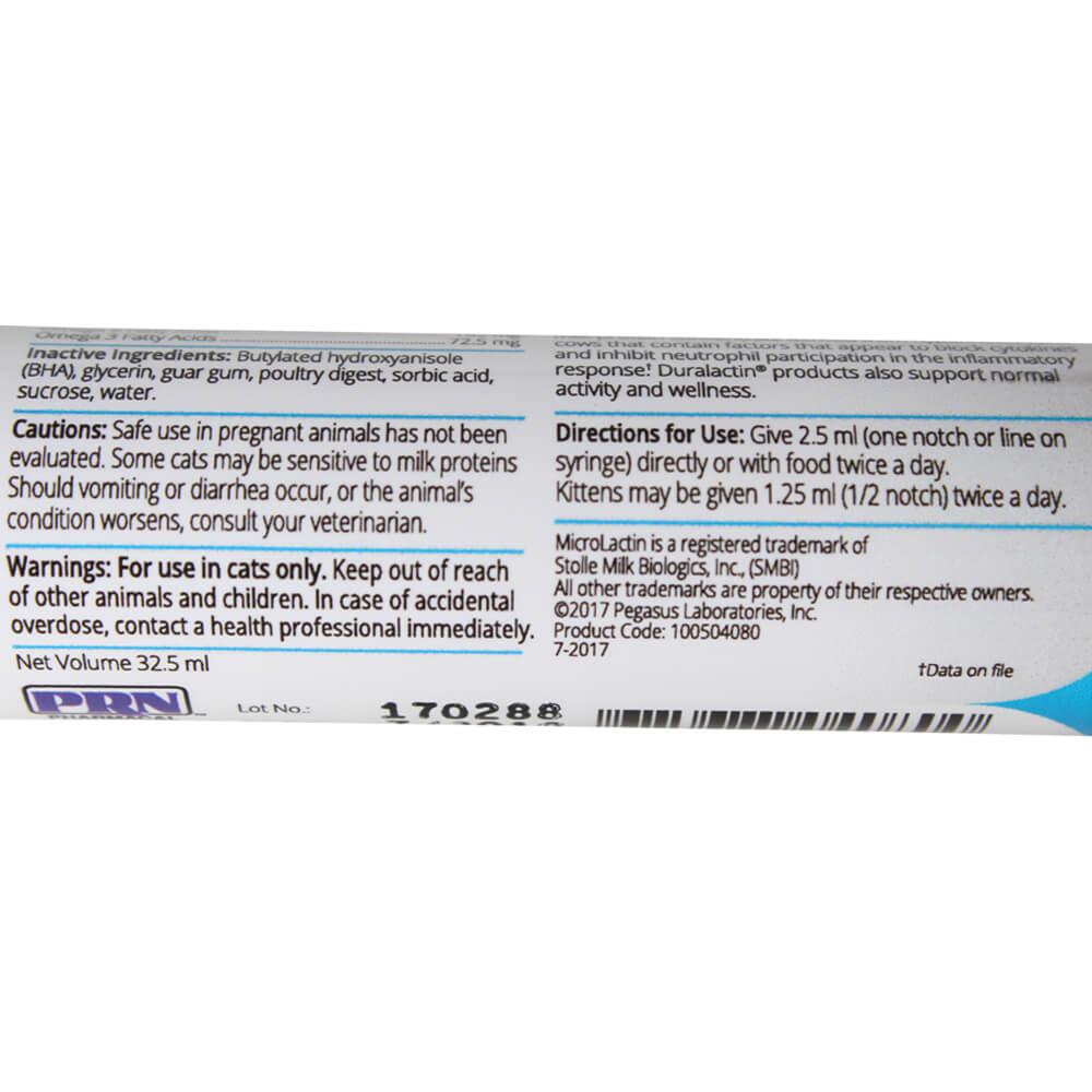 Duralactin Feline L Lysine Cat Herpes Lambert Vet Supply