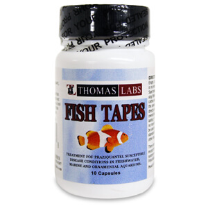 Fish Tapes, 34 mg, 10 Capsules