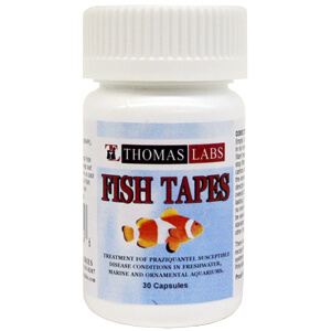 Fish Tapes, 34 mg, 30 Capsules