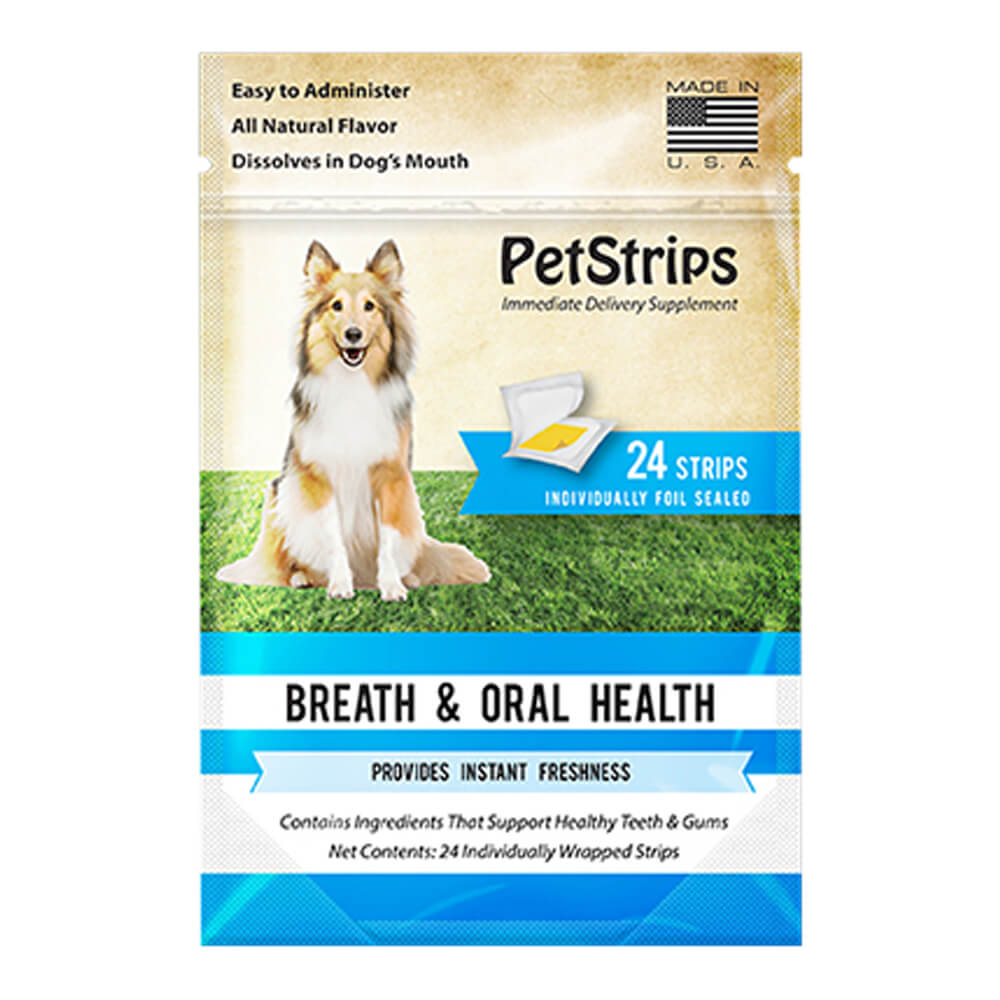 PetStrips Breath & Oral Health for Dogs 24 Strips