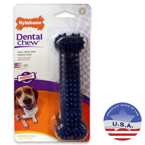 NylaBone Dental Chews, Bone, Original Flavor, Medium Dog up to 35 lbs