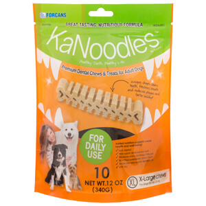 KaNoodles for X-Large Dogs, 12 oz, 10 Chews