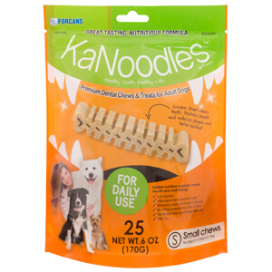 KaNoodles for Small Dogs, 6 oz, 25 Chews