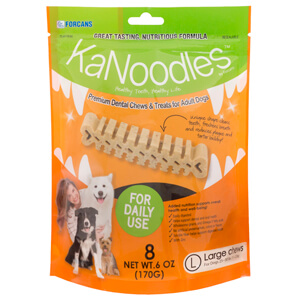 KaNoodles for Large Dogs, 6 oz, 8 Chews