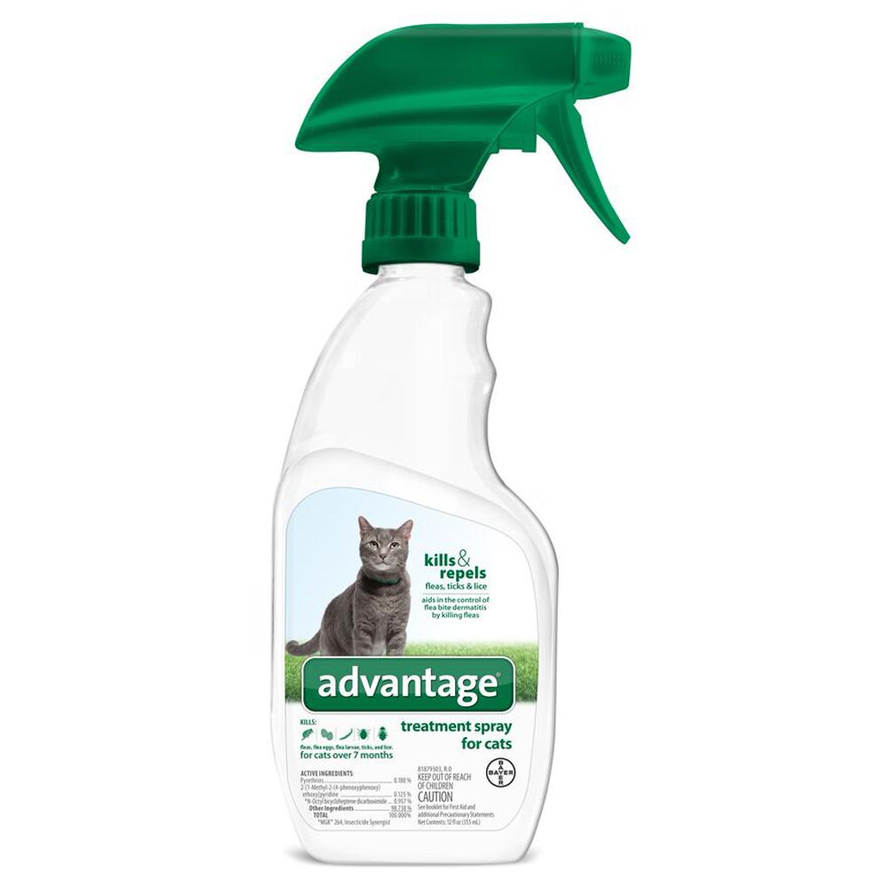 Advantage Treatment Spray For Cats