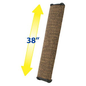 Lean-It Anywhere Wide! Scratching Post, Large! 38