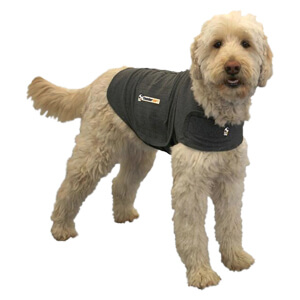 Thundershirt Pet Anxiety Treatment, X-Sm, Grey