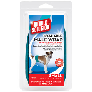 Simple Solution Washable Male Wrap, Small