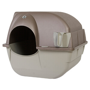 Roll'n Clean Self-Cleaning Litter Box