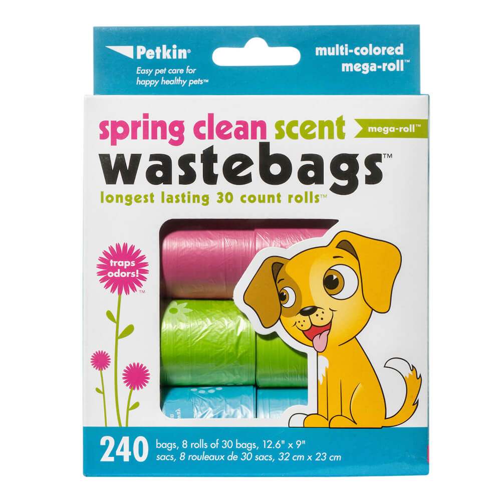 Spring Clean Waste Bags, 240 Count