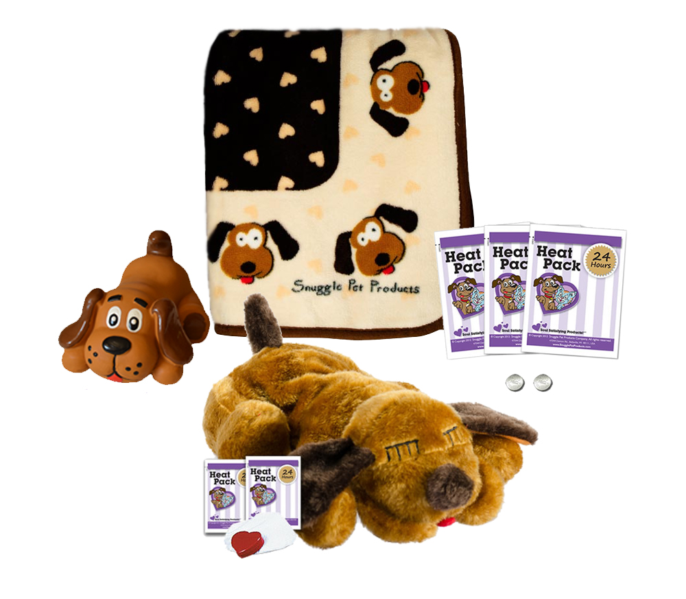 SnugglePuppies Starter Kit, Brown Mutt