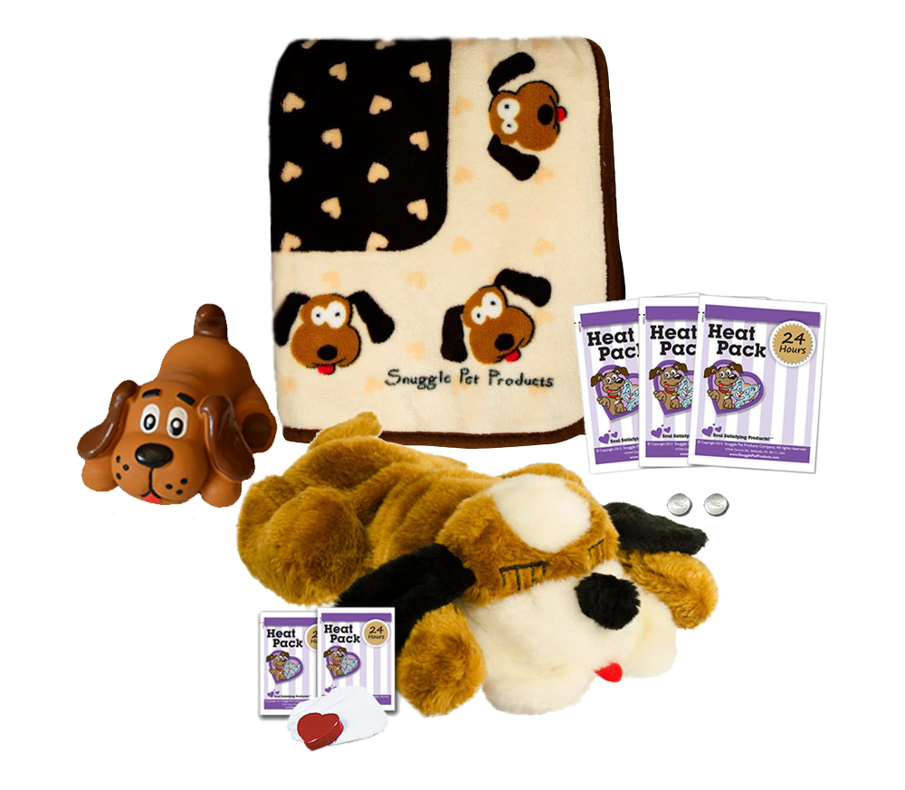 SnugglePuppies Starter Kit, Brown White