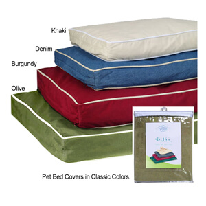Pet Dreams Classic Pet Bed Covers