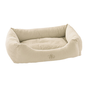 Pet Dreams Plush Donut Style Bumper Pet Bed