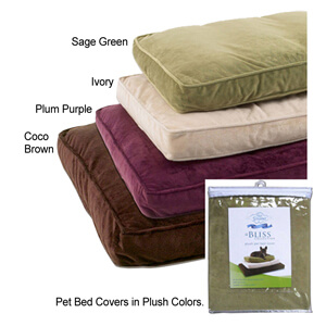 Pet Dreams Plush Pet Bed Cover
