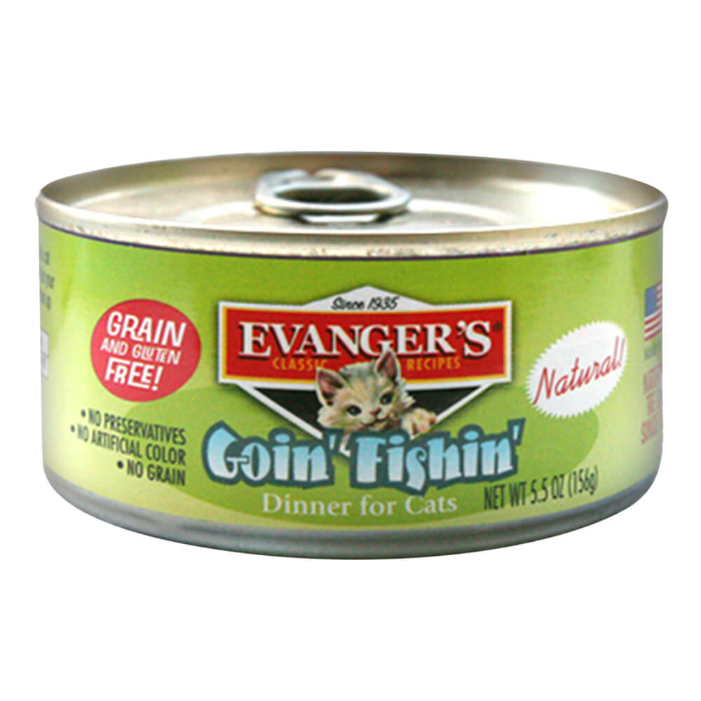 Goin' Fishin' Dinner for Cats, 5.5 oz