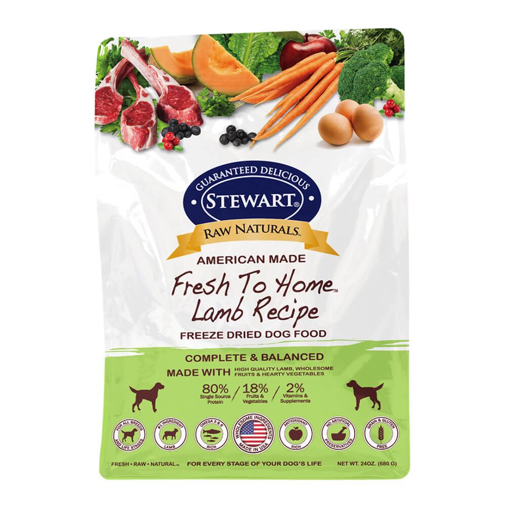 Raw Naturals Freeze Dried Food Bag 24oz Lamb