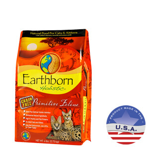 Earthborn Holistic Primitive Feline Natural, 5 lbs