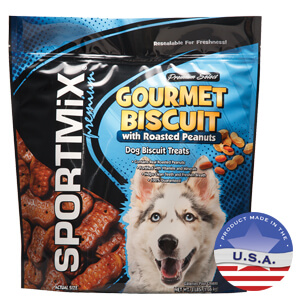 SPORTMiX Gourmet Biscuits with Roasted Peanuts
