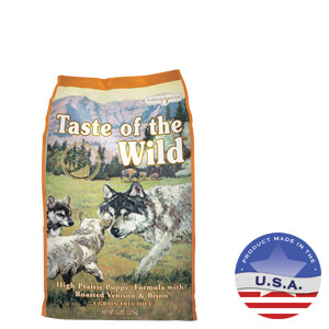 Taste of the Wild High Prairie Puppy Formula, 5 lbs