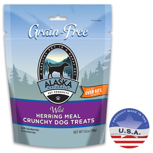 Alaska Naturals Wild Herring Meal Crunchy Dog Treats