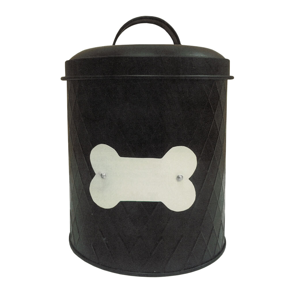 Treat Canister, 62 oz, Black