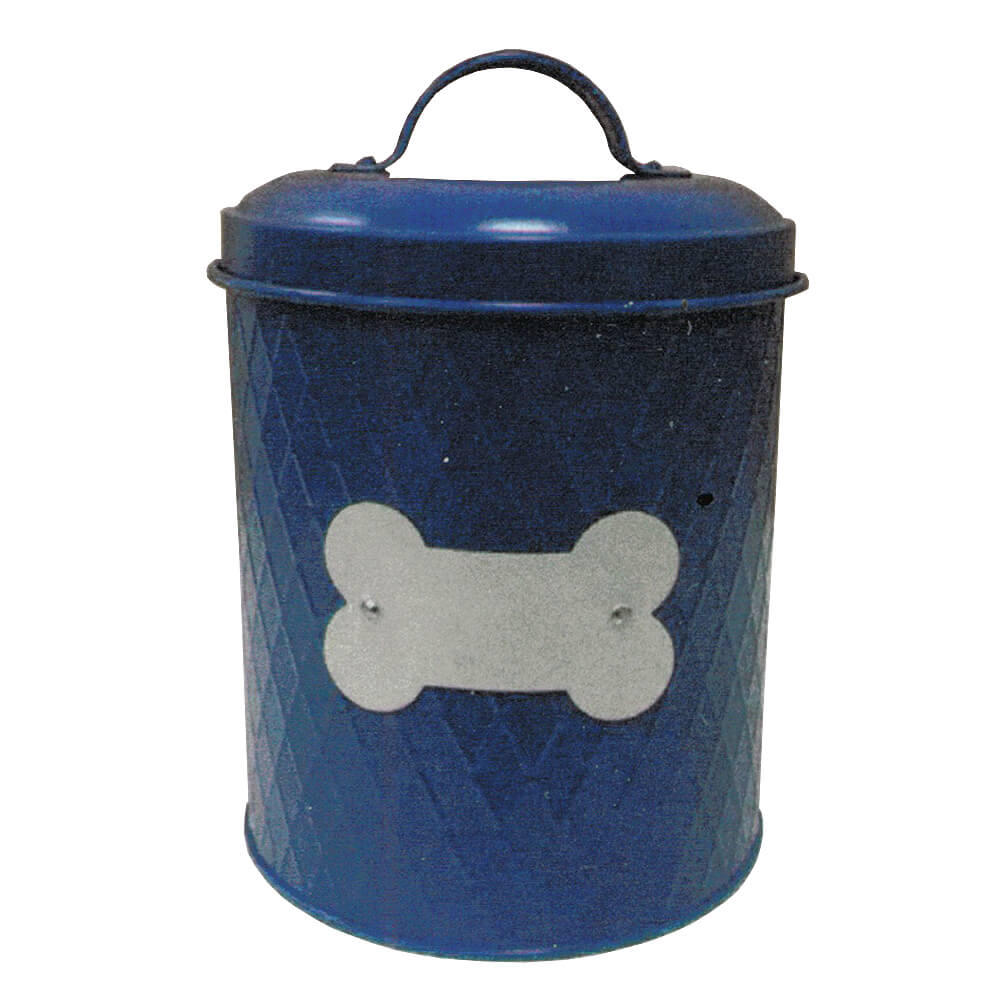 Treat Canister, 62 oz, Blue
