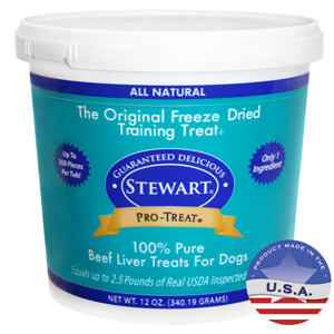 Stewart Pro-Treat Beef Liver Treat for Dogs, 12 oz