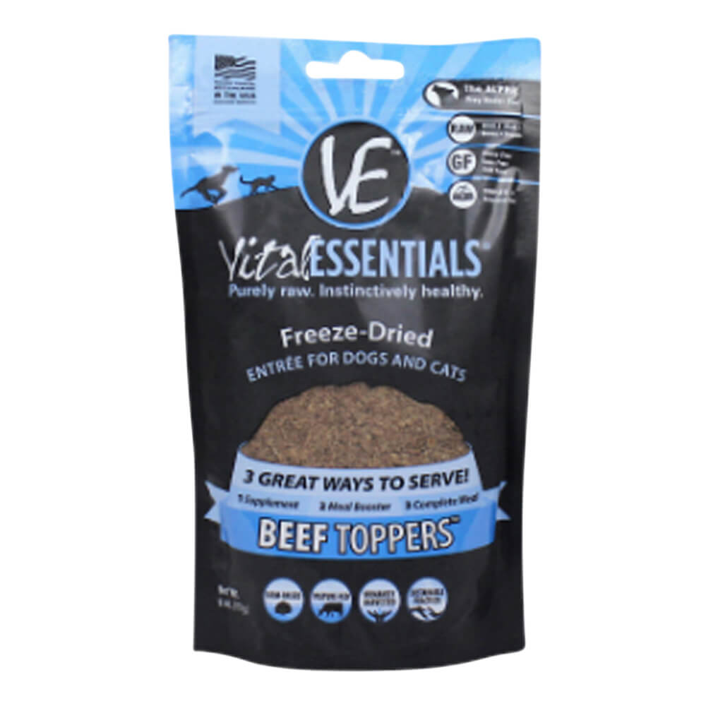 Freeze-Dried Beef Toppers, 6 oz