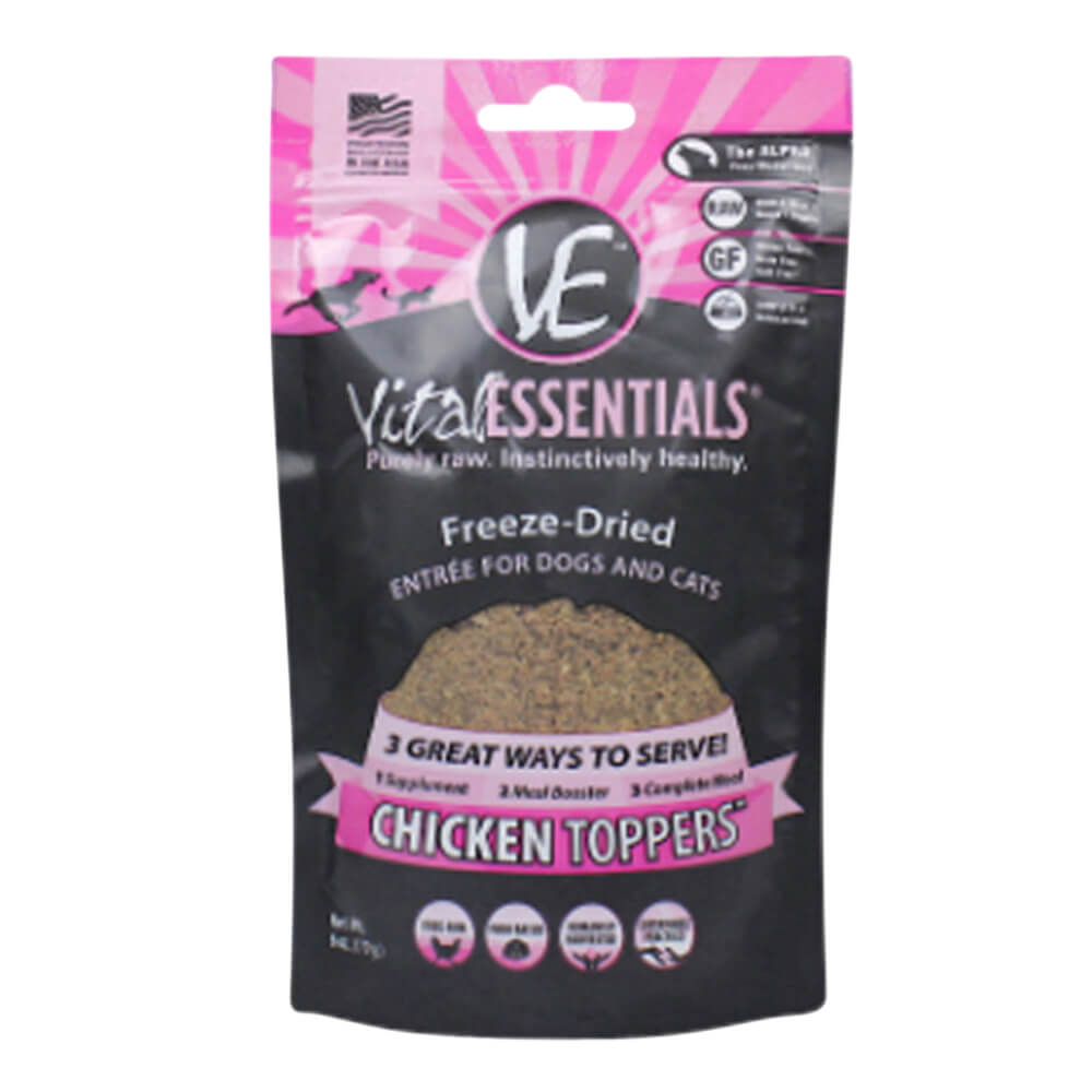 Freeze-Dried Chicken Toppers, 6 oz